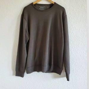 Lucky Brand pullover sweatshirt Size XL Brown